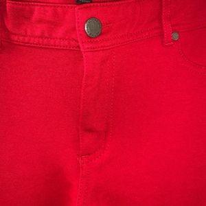 Pants - Red long pants